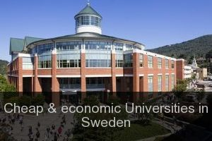 Cheap & economic Universities in Sweden