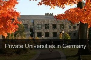 Private Universities in Germany