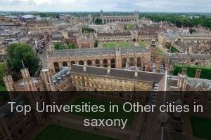 Top Universities in Other cities in saxony