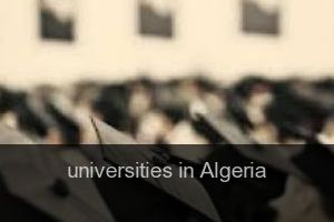 Universities in Algeria