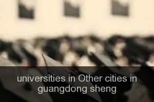 Universities in Other cities in guangdong sheng