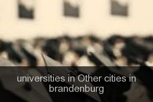 Universities in Other cities in brandenburg