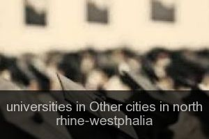 Universities in Other cities in north rhine-westphalia