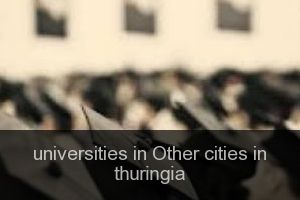 Universities in Other cities in thuringia