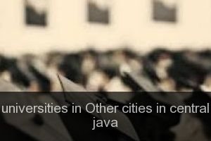 Universities in Other cities in central java