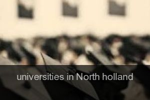 Universities in North holland