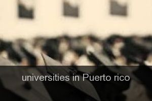Universities in Puerto rico