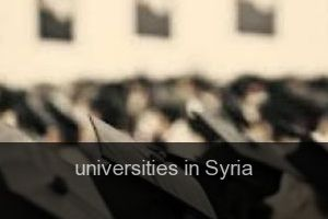 Universities in Syria